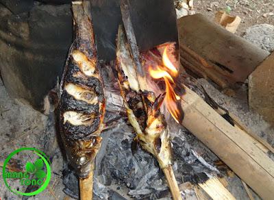 FOTO : Ikan mas bakar