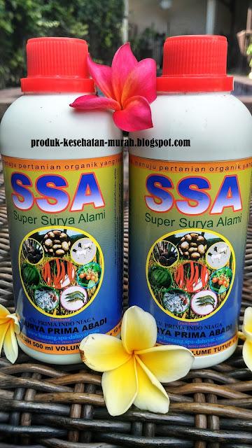 POC-SSA pupuk organik untuk pertanian / peternakan / perikanan . perkebunan