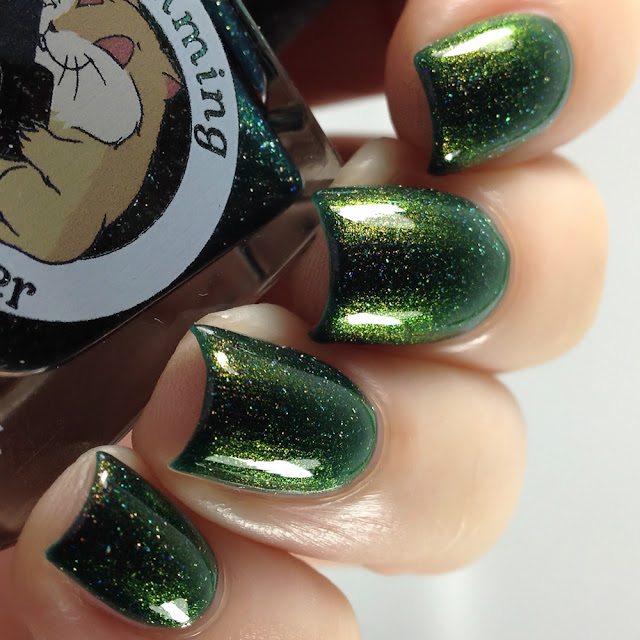 Lemming Lacquer-Be Our Gnome Queen!