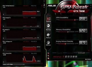 ASUS GPU Tweak II 1.8.8.0
