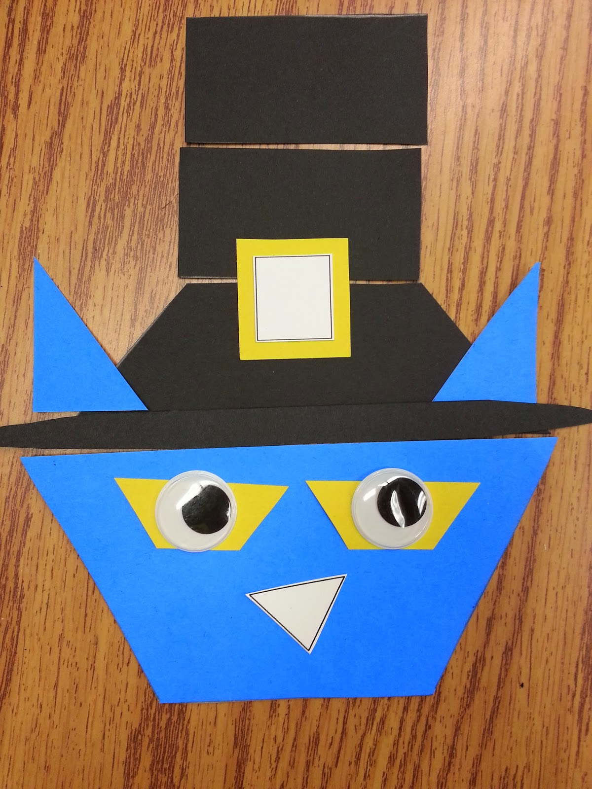 Memories Made In First Pilgrim Pete A Shape Activity For