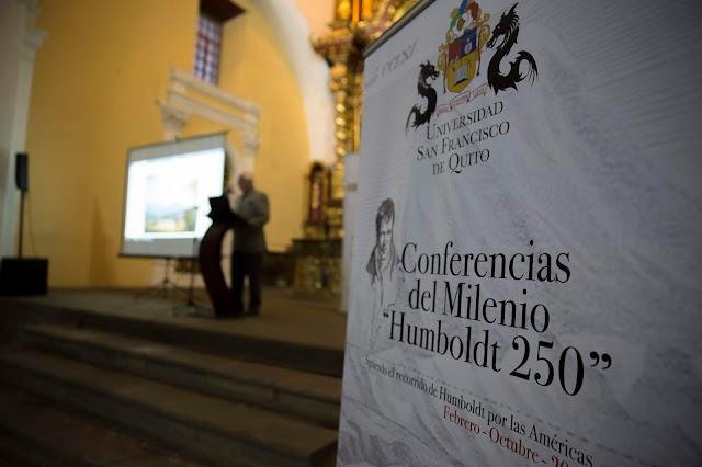 Conferencia del Milenio 'Humboldt 250' se presenta en Riobamba