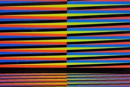 Cromointerferencia de Color Aditivo Carlos Cruz-Diez