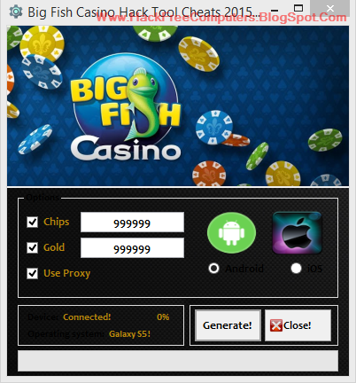 Big win casino cheats
