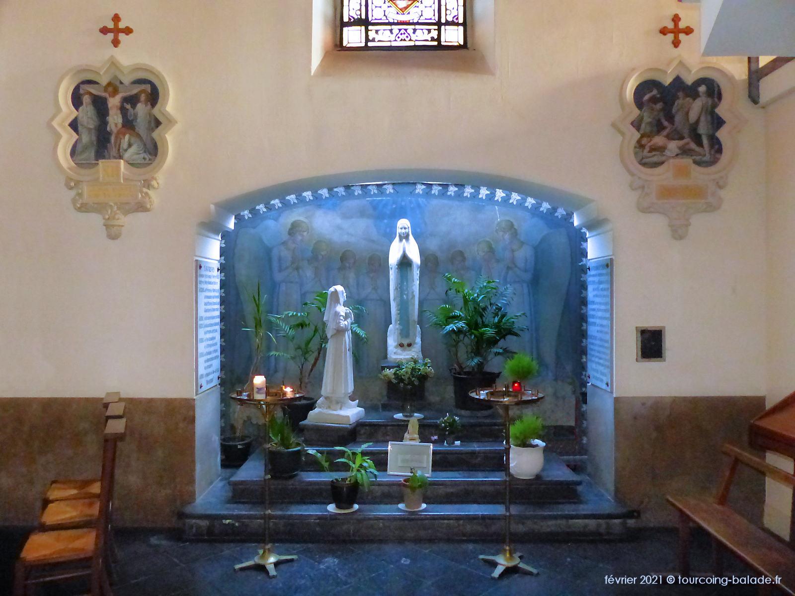 Madeleine Weerts, Sainte Bernadette, Tourcoing
