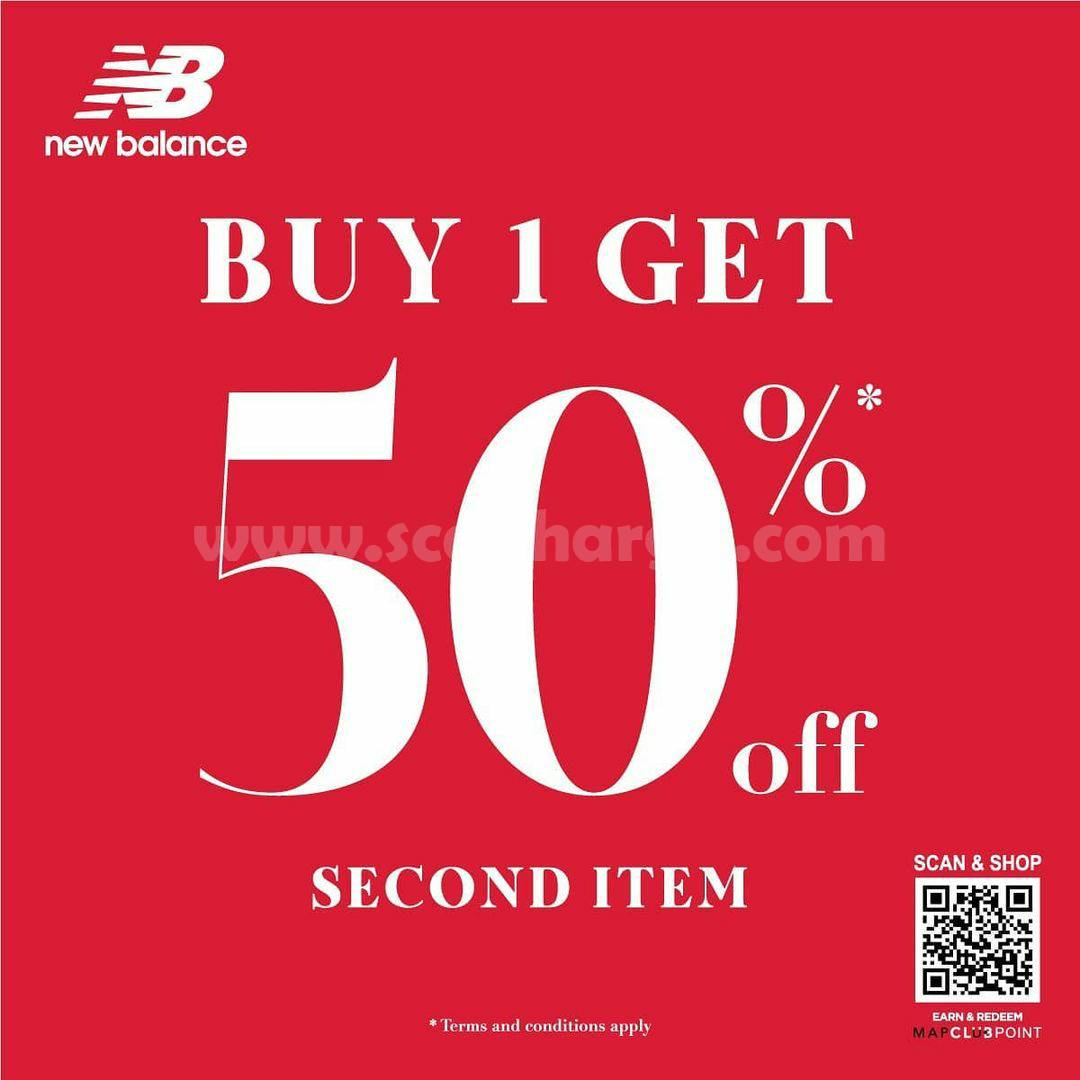 NEW BALANCE Promo LONG WEEKEND! SPECIAL BOGO up to 50% Off