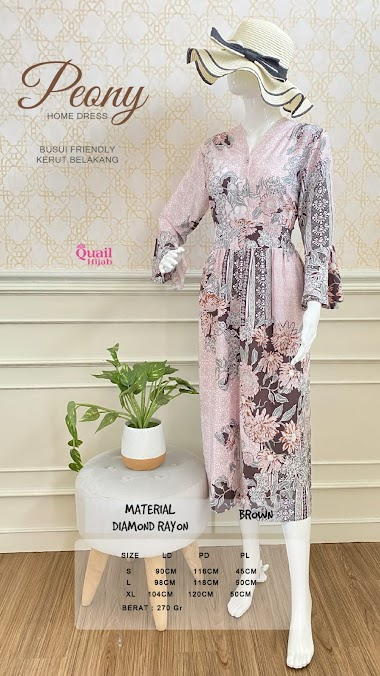 Peony Home Dress by Quail Hijab