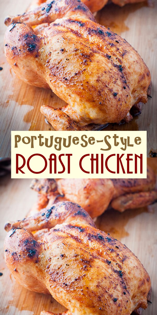 Portuguese-Style Roast Chicken #Dinnerrecipes