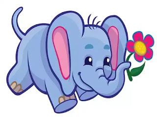 गजराज व मूषकराज - An Elephant and Rat