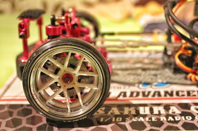 3Racing Sakura D4 RWD with Tetsujin rims and DS-Racing tires
