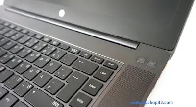 HP ZBook Studio G3 زر الطاقة