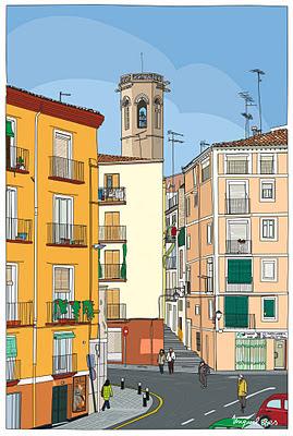 Lleida, Carrer La Palma