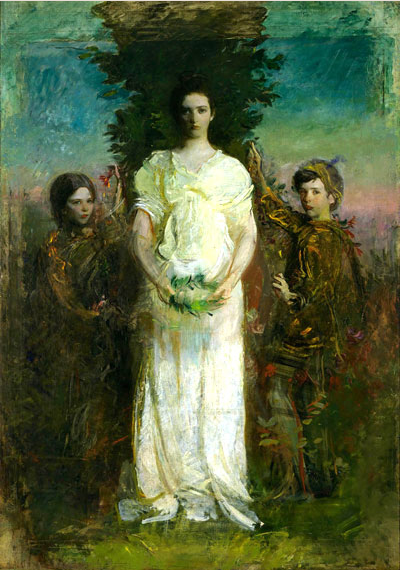 abbott handerson thayer children