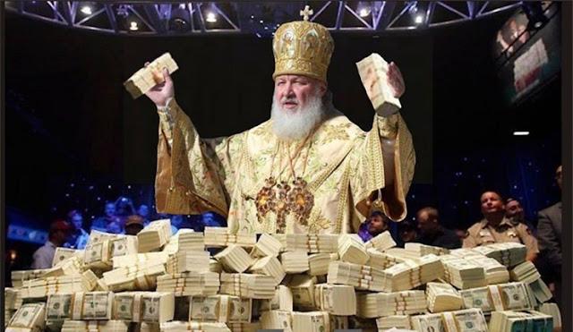 РПЦ сможет безнаказанно отмывать деньги – законопроект в Госдуму уже внесен