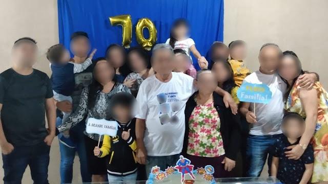 Festa surpresa deixa seis com Covid-19 e 16 da mesma família com suspeita
