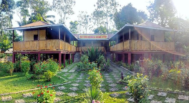 Ijen Miner Family Homestay di Desa Tamansari, Kecamatan Licin, Banyuwangi.