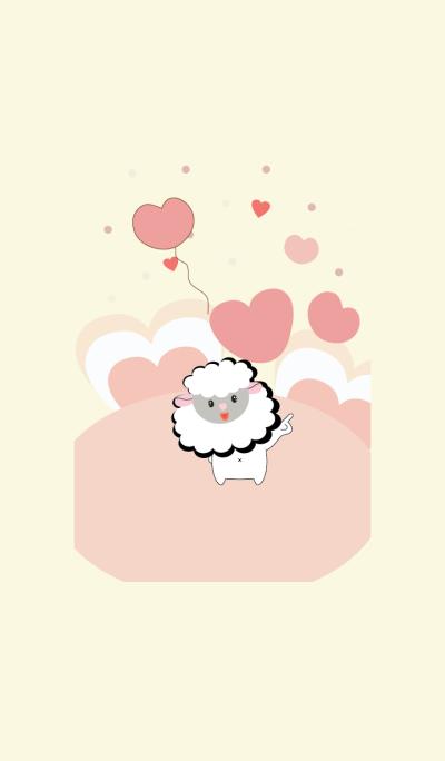 Cute sheep theme vr.6
