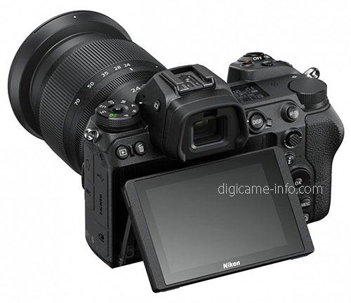 Nikon Z7, с наклонным экраном