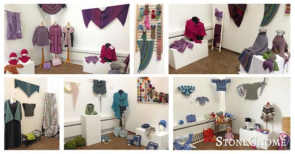 Crochet/Knitting - Exhibition at Gudhjem Museum