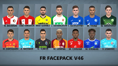 PES 2017 Facepack v46 by FR Facemaker