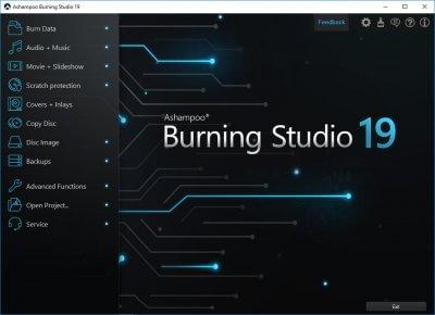 Ashampoo Burning Studio 19