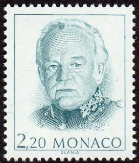 Rainier III Prince of Monaco. 1991