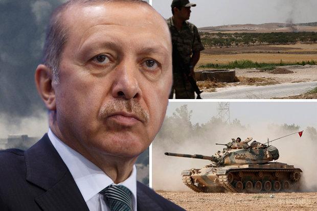 Ο Ερντογάν και ο πόλεμος... εντυπώσεων στη Συρία