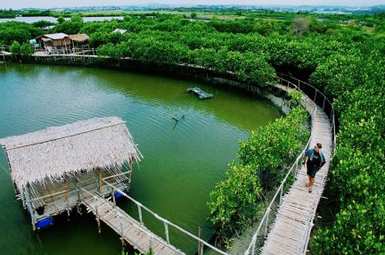 tempat wisata Pantai Maron Semarang