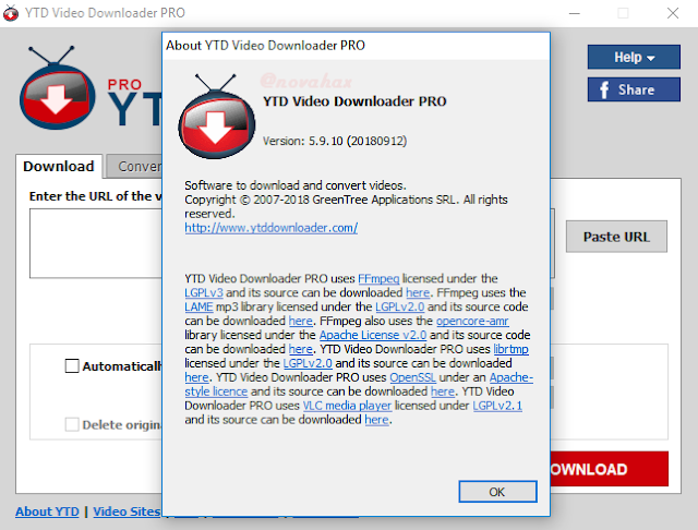 Youtube video downloader license