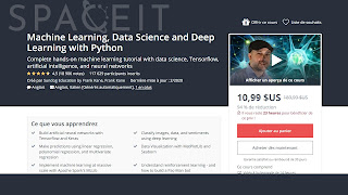 Free Course Machine Learning, Data Science and Deep Learning with Python 2020