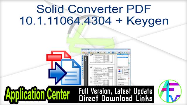 Solid Converter PDF 10.1.11064.4304 + Keygen