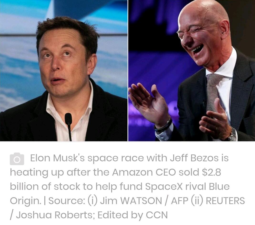 News-Forbes: Elon Musk Vs Jeff Bezos, Battle Of Space Travel