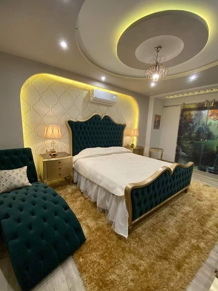 ديكورات جبس غرف النوم كلاسيكية