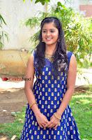 Tamil Actress Amritha Pos in Blue Long Dress at Padaiveeran Tamil Movie Audio Launch  0008.jpg