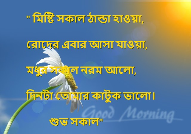 Bangla Good Morning Sms And Good Morning All Photo
