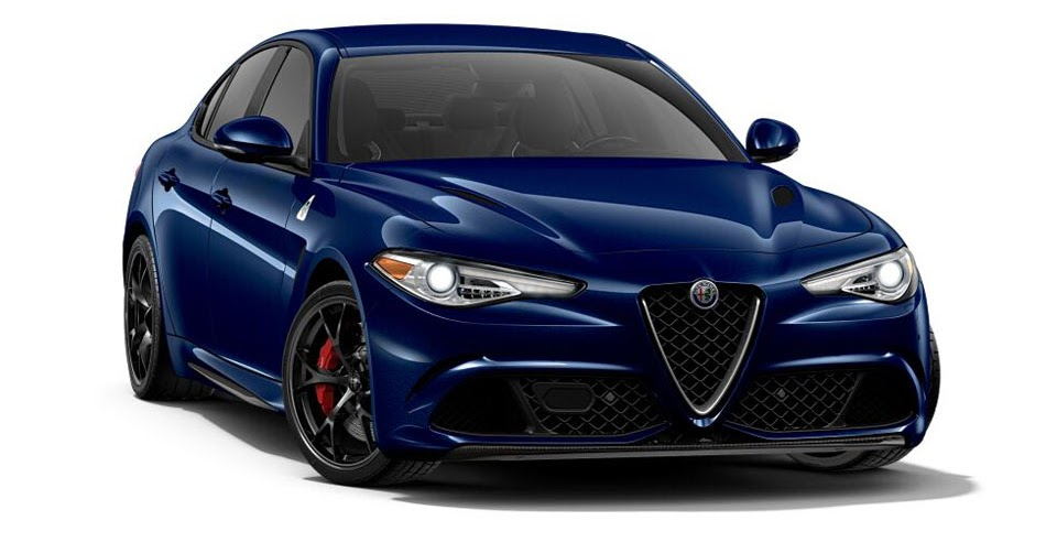 alfa romeo giulia configurator lets you customize italy 39 s finest sedan. Black Bedroom Furniture Sets. Home Design Ideas