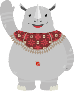 www.jakartavisitorguide.blogspot.co.id/kaka-maskot-sea-games-2018