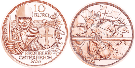 Austria 10 euro 2020 - Courage