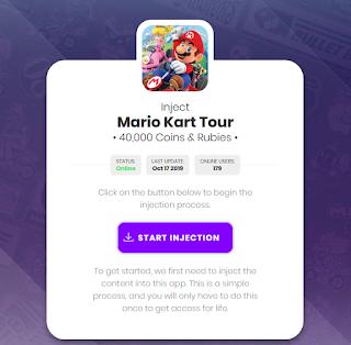 Cara mendapatkan Coins dan Rubies di Mario Kart Tour dengan gratis dengan appstweak