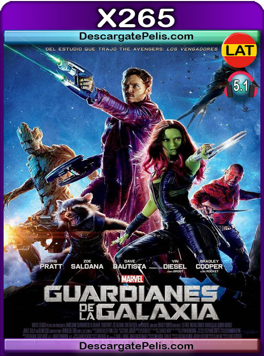 Guardianes de la galaxia (2014) 1080P x265 Latino – Ingles