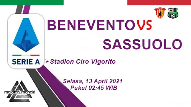 Prediksi Benevento Vs Sassuolo