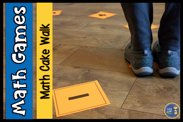 Cake Walk Math Style | Movement in Math | Math Game | Math Activity | Evaluate Expressions