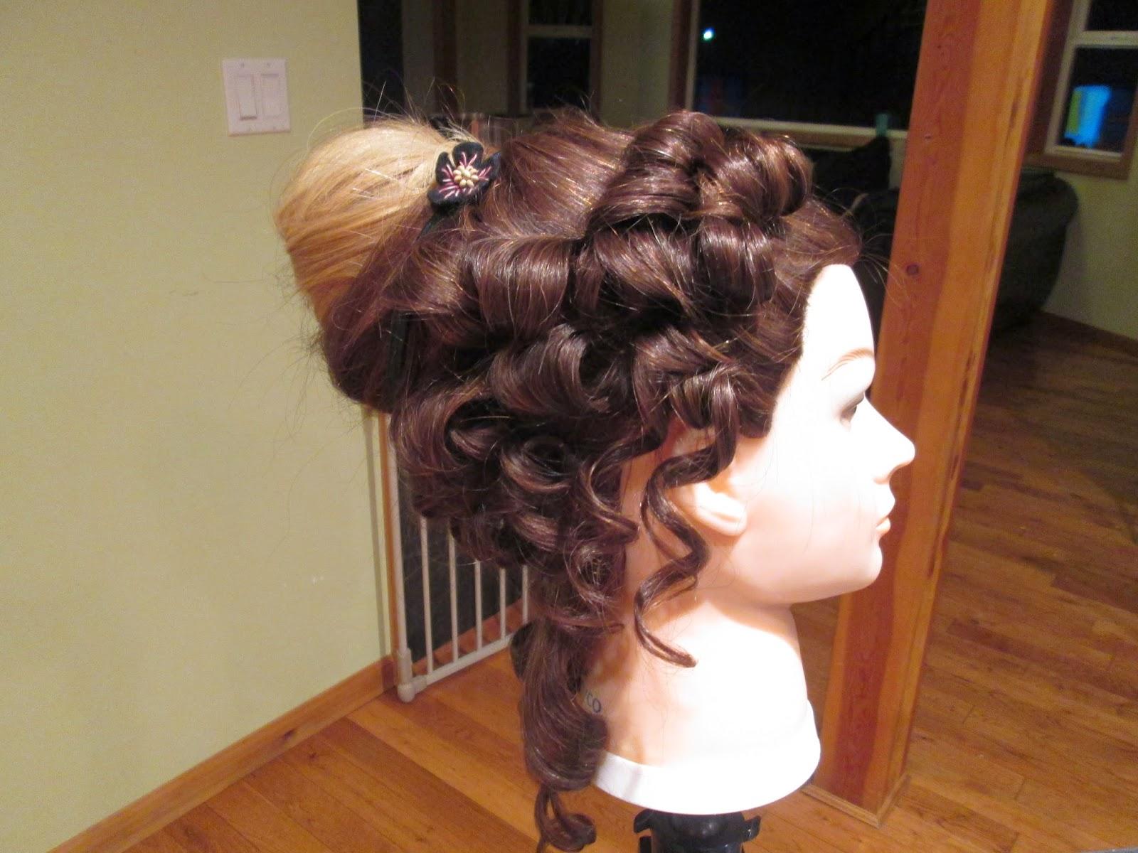 vendela's hair studio: masquerade ball hairstyle