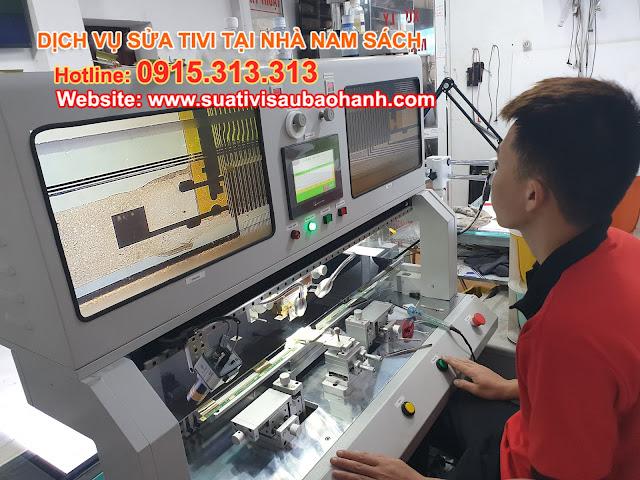 Máy móc phục vụ sửa tivi tại Nam Sách Hải Dương