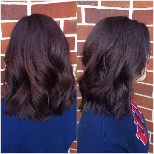 auburn mahogany brown hair color