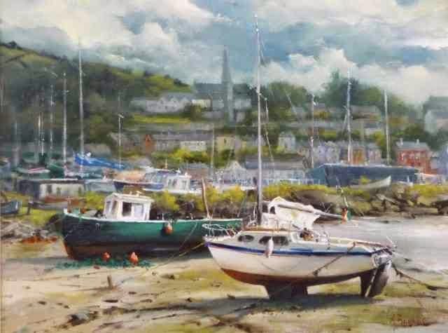 Ирландская художница. Annemarie Bourke