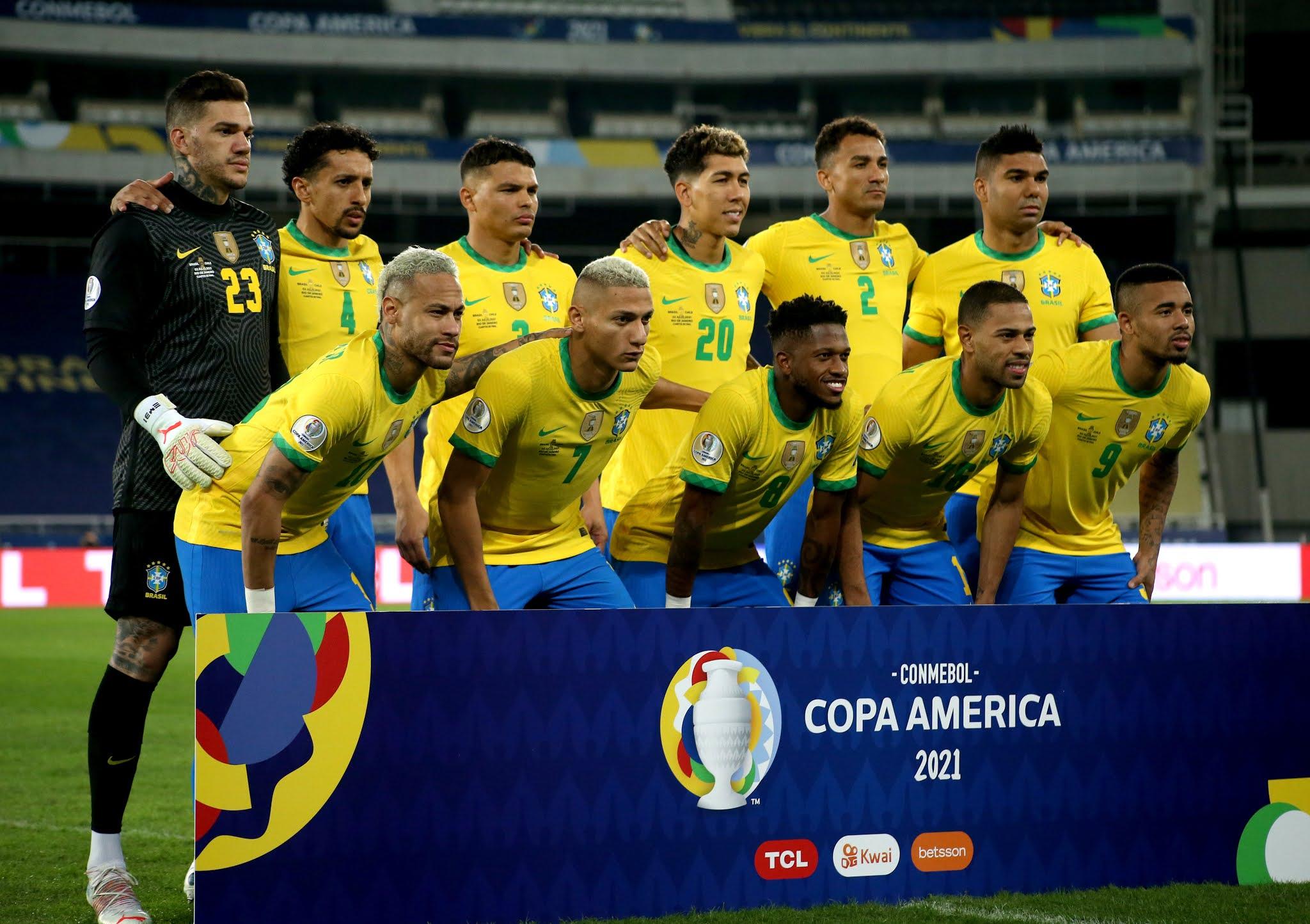 Formación de Brasil ante Chile, Copa América 2021, 2 de julio