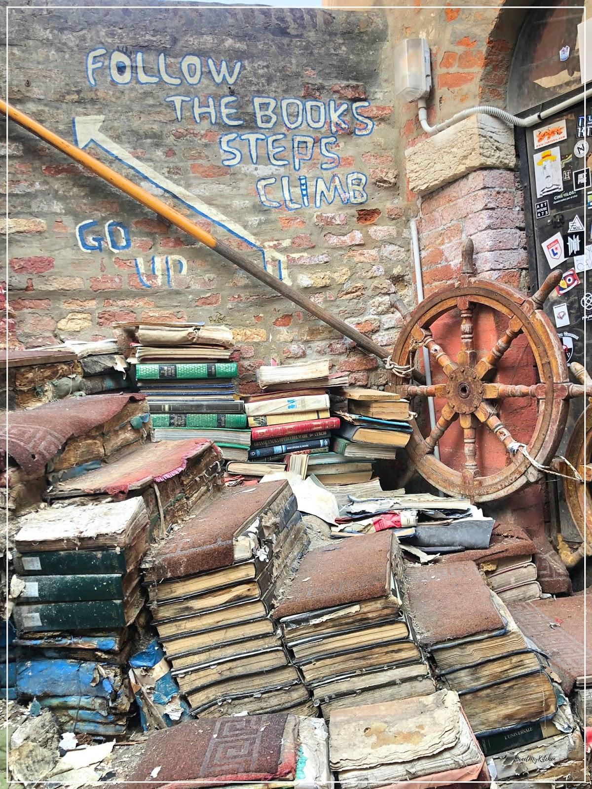 Veneza Acqua Alta livraria libreria