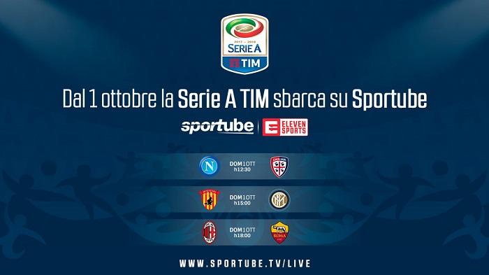 La Serie A Tim In Diretta Streaming Su Sportube Sport Business Management