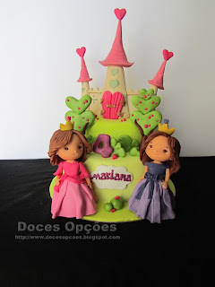 castel princess birthday cake